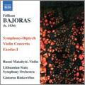 ギンタラス・リンキャヴィチウス/F.Bajoras: Symphony-Diptych, Violin Concerto, Exodus No.1 / Gintaras Rinkevicius, Lithuanian State SO, Rusne Mataityte[8570758]