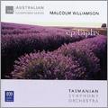M.Williamson: Suite from Our Man in Havana, Sinfonia Concertante, etc / Richard Mills, Tasmanian SO, etc