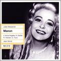 ジーン・モレル/Massenet: Manon / Jean Morel, Metropolitan Opera Orchestra & Chorus, Victoria de los Angeles, etc [209]