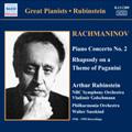ワルター・ジュスキント/Rachmaninov: Piano Concerto No.2 in C Minor Op.18, Rhapsody on a Theme of Paganini Op.43, etc / Artur Rubinstein(p), Vladimir Golschmann(cond), NBC Symphony Orchestra, etc [8111289]