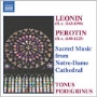Tonus Peregrinus/Sacred Music From Notre-Dame Cathedral:Perotin/Anonnymous:Anthony Pitts [8557340]
