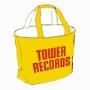 TOWER RECORDS ナイロンリバーシブル トートバック