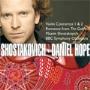 """マキシム・ショスタコーヴィチ/SHOSTAKOVICH:VIOLIN CONCERTO NO.1/NO.2/ROMANCE FROM """"THE GODFLY"""":DANIEL HOPE(vn)/MAXIM SHOSTAKOVICH(cond)/BBC SO [256462546]"""