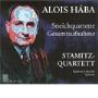 シュターミッツ四重奏団/Alois Haba :Complete String Quartets/Tagebuch-Notizen op.101:Stamitz Quartet [BR100282]