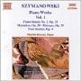 マーティン・ロスコー/Szymanowski: Piano Works, Vol. 1 [8553016]