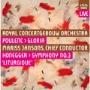 "Poulenc: Gloria; Honegger: Symphony No.3 ""Liturgique"""