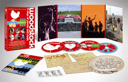 ディレクターズカット ウッドストック 愛と平和と音楽の3日間 40周年記念 アルティメット・コレクターズ・エディションDVD BOX<完全生産限定盤>