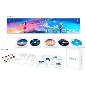 【タワーレコード限定 瀧と三葉のメモパッドセット】君の名は。 コレクターズ・エディション 4K Ultra HD Blu-ray同梱5枚組<初回生産限定版>