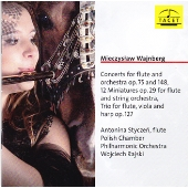 Wajinberg: Concerts for Flute and Orchestra Op.75, etc