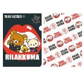 RILAKKUMA × TOWER RECORDS コラボクリアホルダーセット 2015