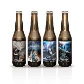 GINO THE CAFEオリジナルラベルビール 4本セット