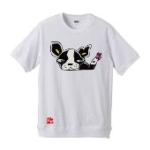 ジョジョの奇妙な冒険 スターダストクルセイダース×TOWER RECORDS T-shirts イギー/Mサイズ