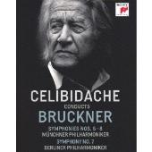 チェリビダッケ・コンダクツ・ブルックナー~交響曲第6番・第7番・第8番<完全生産限定盤>