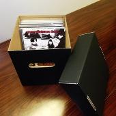 disk union EP用ダンボール箱 Black / 小 [ACS-895]