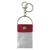 タワレコ 缶バッジキーホルダー Red