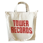 TOWER RECORDS 2WAY トートバッグ ナチュラル