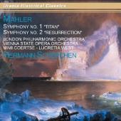 """ヘルマン・シェルヘン/Mahler: Symphonies No.1 """"Titan"""", No.2 """"Resurrection"""" [URN22421]"""