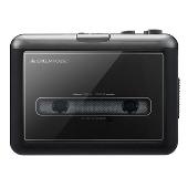 グリーンハウス カセットテープ変換プレーヤー GH-CTPB-BK microSDタイプ