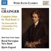 グレインジャー: 吹奏楽のための音楽全集 第3集