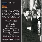 サルヴァトーレ・アッカルド/The Young Salvatore Accardo - Paganini [IDIS6627]
