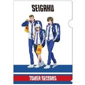新テニスの王子様 × TOWER RECORDS クリアファイル 青学(せいがく)