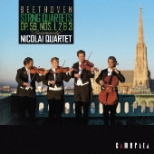 ベートーヴェン:弦楽四重奏曲作品59 「ラズモフスキー」