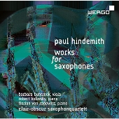 Paul Hindemith: Works for Saxophones