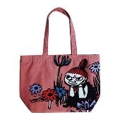 MOOMIN オールドカラーバッグ/リトルミイと花