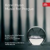 フサ: 交響曲第2番「リフレクションズ」、3枚のフレスコ画、「プラハ1968年のための音楽」