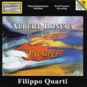 フィリッポ・クアルティ/Presagi - A.Bonera: Piano Works [PH03902]