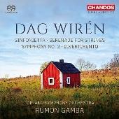 D.Wiren: Sinfonietta, Serenade for Strings, Symphony No.3, Divertimento