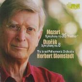 """ヘルベルト・ブロムシュテット/Mozart: Symphony No.35 KV.385 """"Haffner""""; Dvorak: Symphony No.8 Op.88 [HEL029638]"""