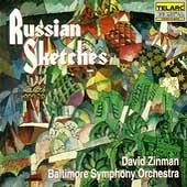 ボルティモア交響楽団/Russian Sketches -Glinka, Ippolitov-Ivanov, Rimsky-Korsakov, etc (1995) / David Zinman(cond), Baltimore Symphony Orchestra [CD80378]