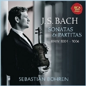 J.S.バッハ: 無伴奏ヴァイオリンのためのソナタとパルティータVo.1(BWV 1004 - 1006)