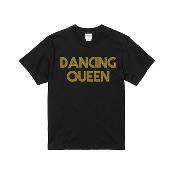 WTM ジャンルT-Shirt DANCING QUEEN ブラック Mサイズ