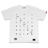 "TORCH TORCH エイリアン ""TITLE I"" Tシャツ/ホワイト Mサイズ"