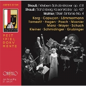 Mahler(Stein): Symphony No.4; J.Strauss II(Webern): Schatz-Walzer Op.418, etc