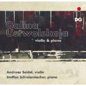 Ustwolskaja: Works for Violin & Piano