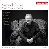 マイケル・コリンズ/British Clarinet Sonatas Vol.2 [CHAN10758]