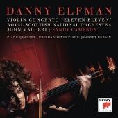ダニー・エルフマン: ヴァイオリン協奏曲、ピアノ四重奏曲