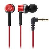 audio-technica インナーイヤーヘッドホン ATHCKR30 Red