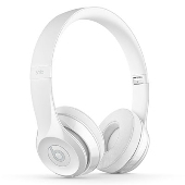 beats by dr.dre Solo3 ワイヤレスオンイヤーヘッドフォン Gloss White