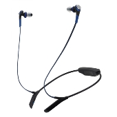 audio-technica ワイヤレスステレオヘッドセット ATH-CKS550BT Blue