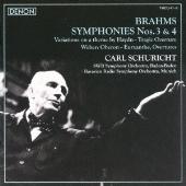 カール・シューリヒト/ブラームス:交響曲第3番/第4番、他 [TWCO-41]