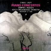 スティーヴン・ハフ/Piano Concertos - Grieg, Liszt [CDA67824]