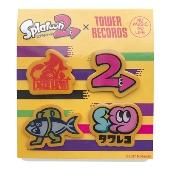 スプラトゥーン2 × TOWER RECORDS ピンバッジ4個セット