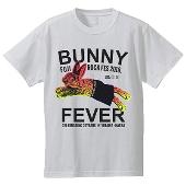 TOWER RECORDS × MADBUNNY NO FUJIROCK, NO LIFE! T-shirt レッド Sサイズ