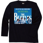 The Beatles/Live At The Hollywood Bowl Cover Black Long Sleeve Tシャツ Sサイズ