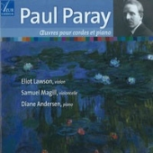 Paul Paray: Works for Strings & Piano