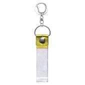 タワレコ 銀テープキーホルダー Yellow